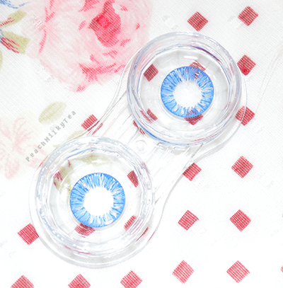 Yuna Cosplay Circle Lenses: Dolly Eye Starry Eye Blue