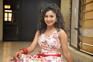 Actress Vishnu Priya Latest Pictures in Short Dress at Nenu Naa Friends Movie Press Meet  77.JPG