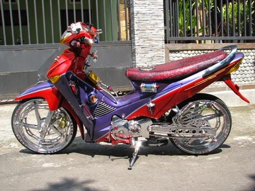 Foto Modifikasi Honda Supra X 2005 2008