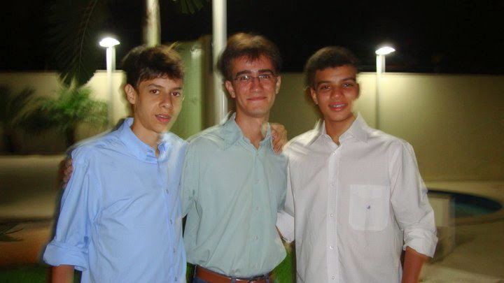 Eduardo, Guilherme e Alberto