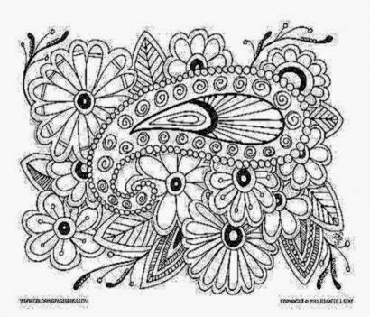 Printable Coloring Pages For Adults | Free Coloring Sheet