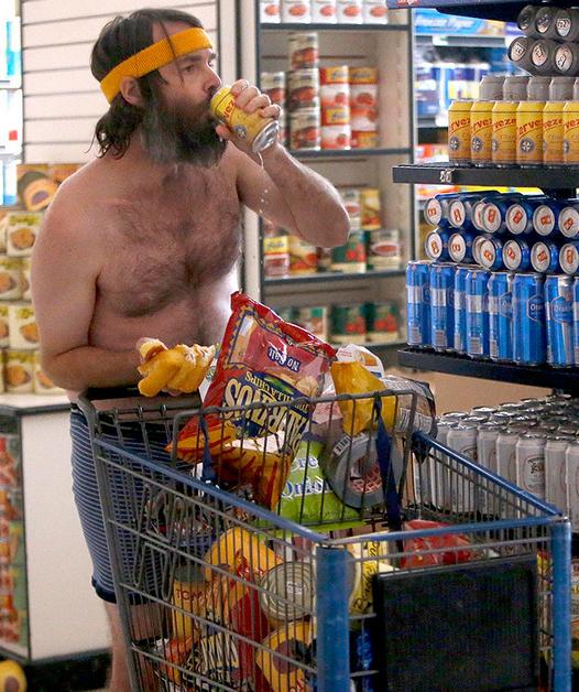 Phil saquea un supermercado