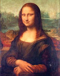 lukisan monalisa mona lisa davinci asli