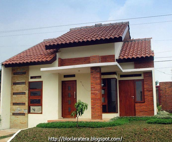 contoh bentuk bentuk desain rumah minimalis modern