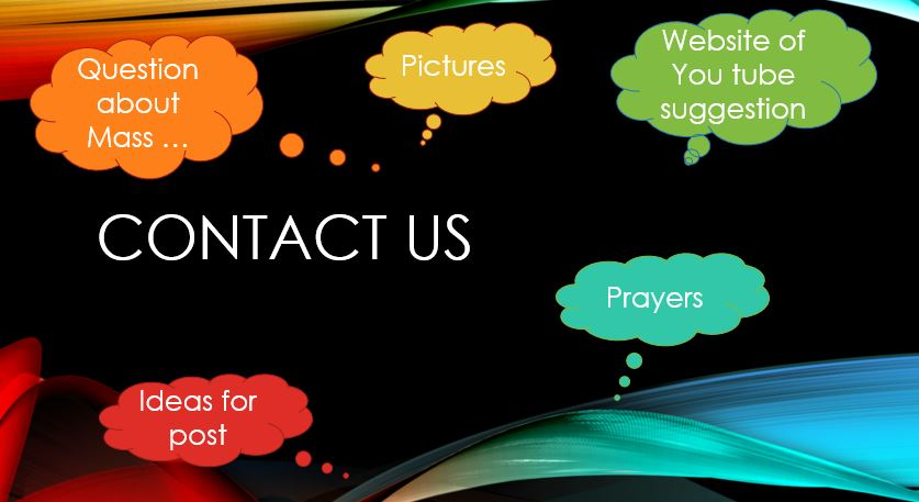 Contact form for the parish blog
