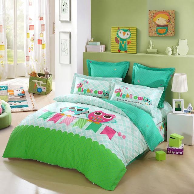 Owl Bedding Set-Duvet Cover