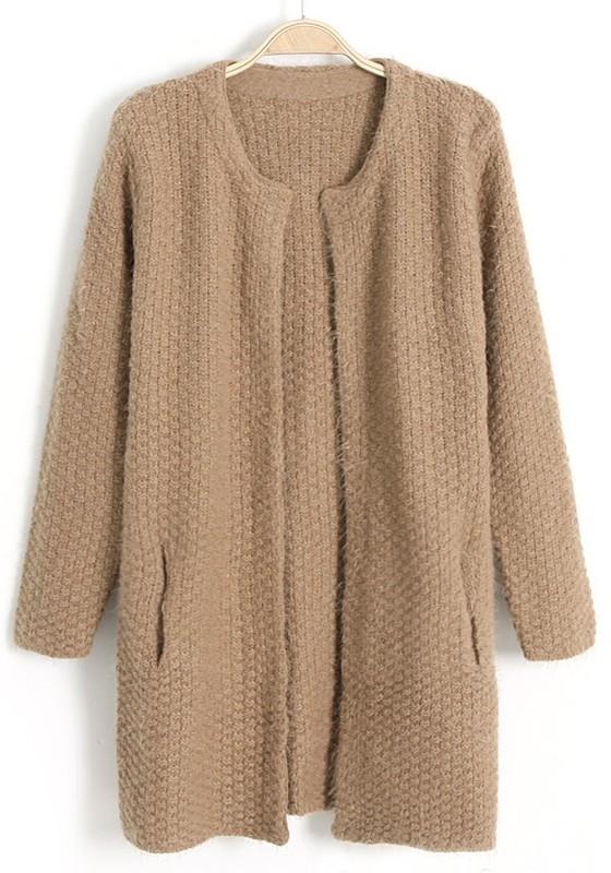 Model Baju Cardigan Rajut Bahan Wool Polos Asli