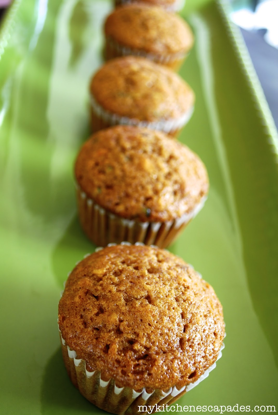 Banana Zucchini Muffins - TGIF - This Grandma is Fun