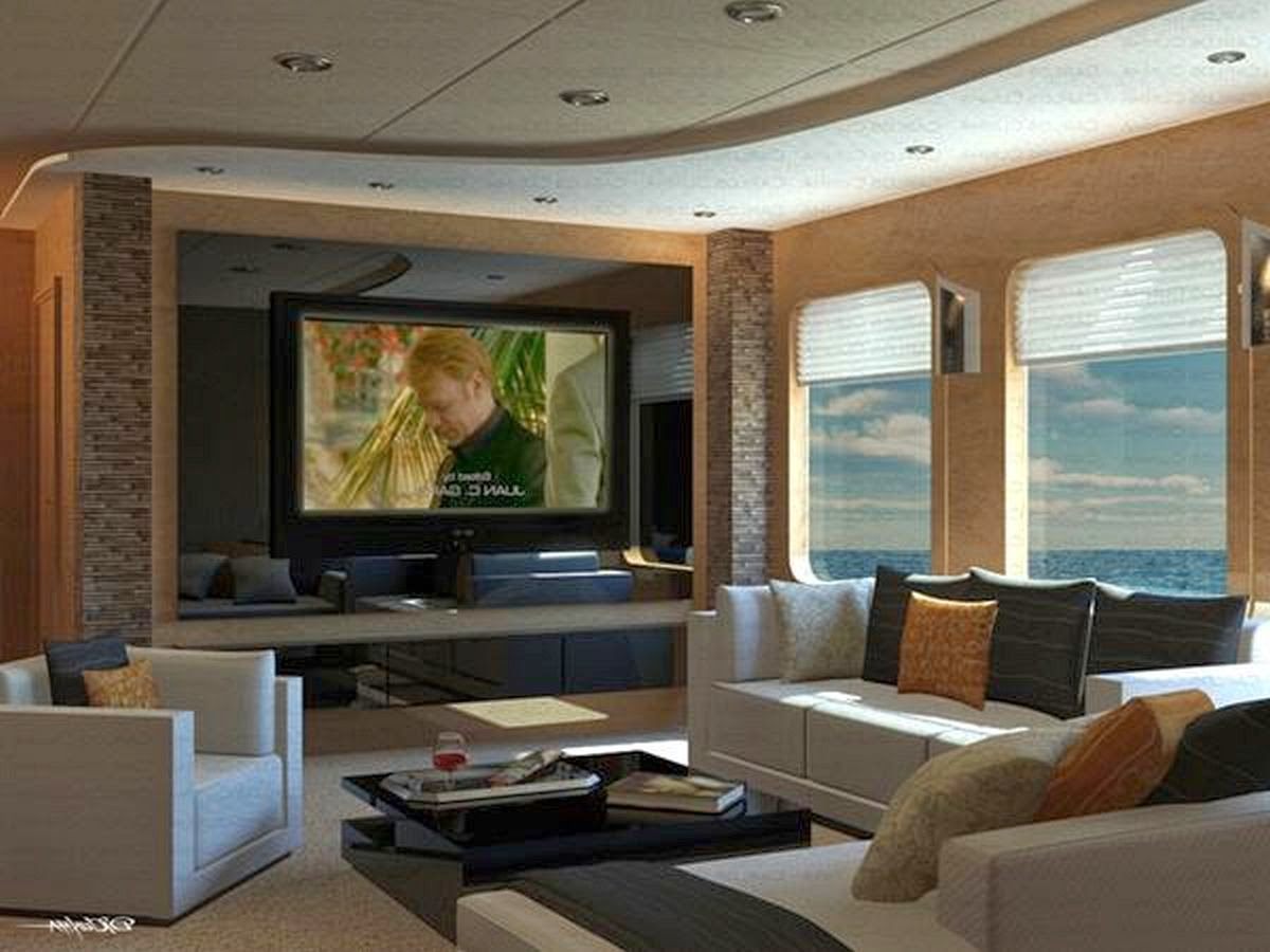 Living Room Designs with TV Ideas