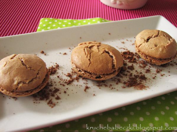 Złośliwe kakaowe makaroniki ;))