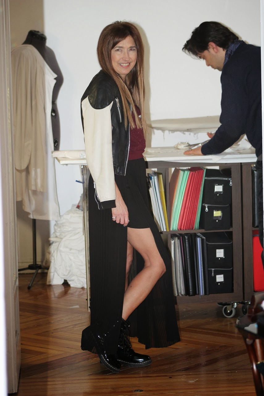Taller del diseñador Marcos Garaban, moda, street style, blog de moda, Carmen Hummer