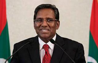 Maldives new president visit sri lanka