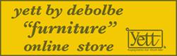 東京都内のハウススタジオ・ディボルブが運営する家具ショップ【yett by debolbe furniture】