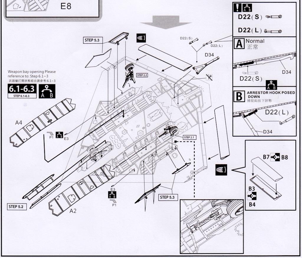 The Modelling News  Northrop Grumman X-47b Ucas