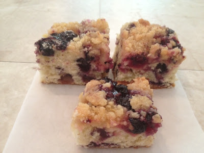 lemon blueberry buckle recipe