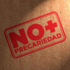 NO MÁS PRECARIEDAD