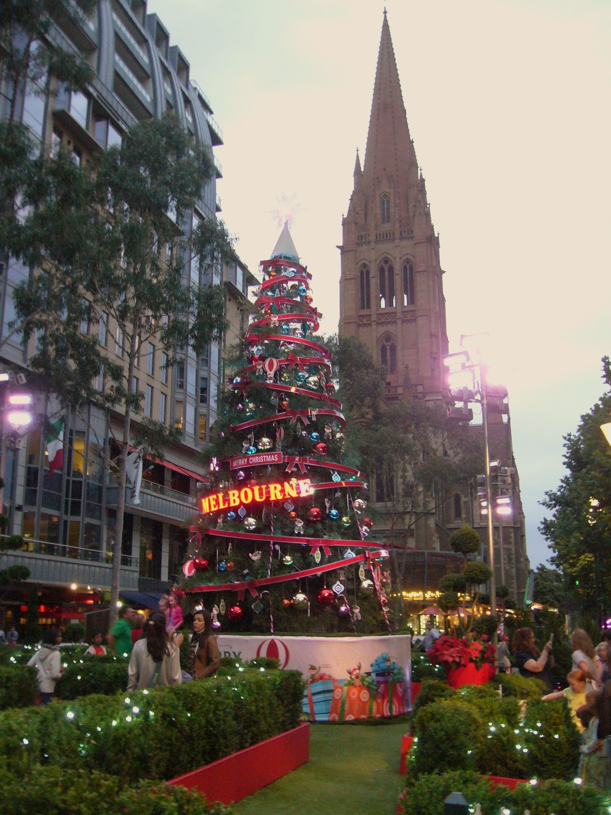 Date of christmas in Melbourne