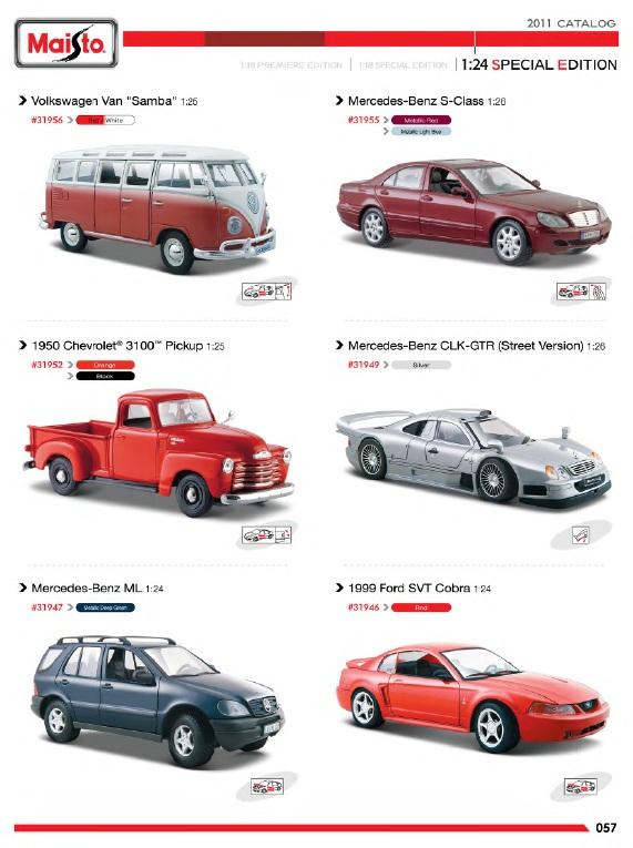 Area 2207 1 24 maisto special edition catalogue 2011 - Am pm catalogus ...