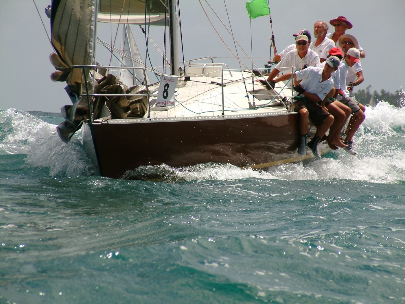 Yacht racing photography Tobago