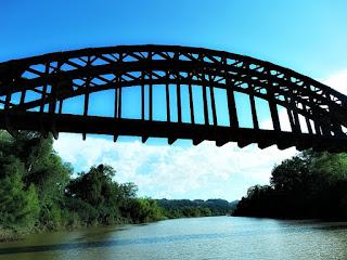 Ponte Ferroviária - Mata, RS