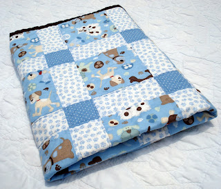 Two tiny birds a quilt for my baby boy for Jake quilted bedding