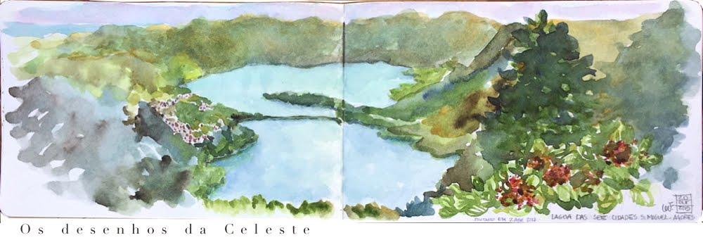 os desenhos da Celeste