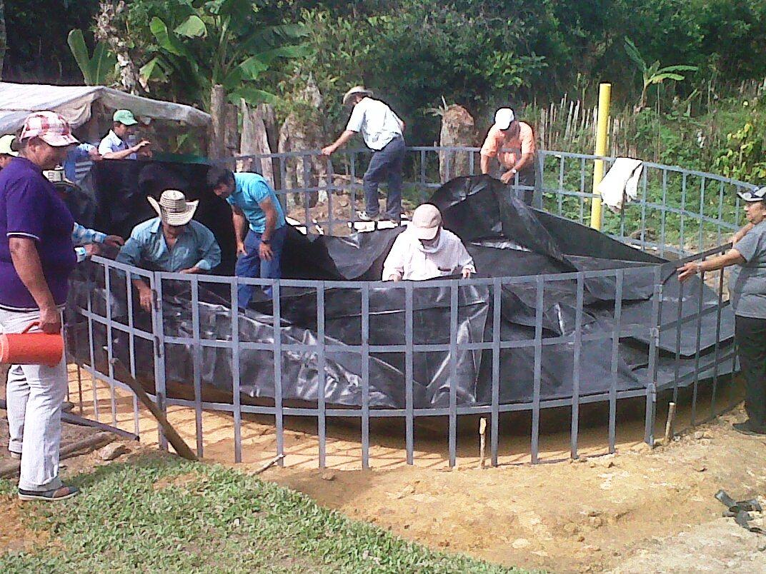 Jovenes rurales emprendedores finalizaci n programa de for Tanques para cachamas