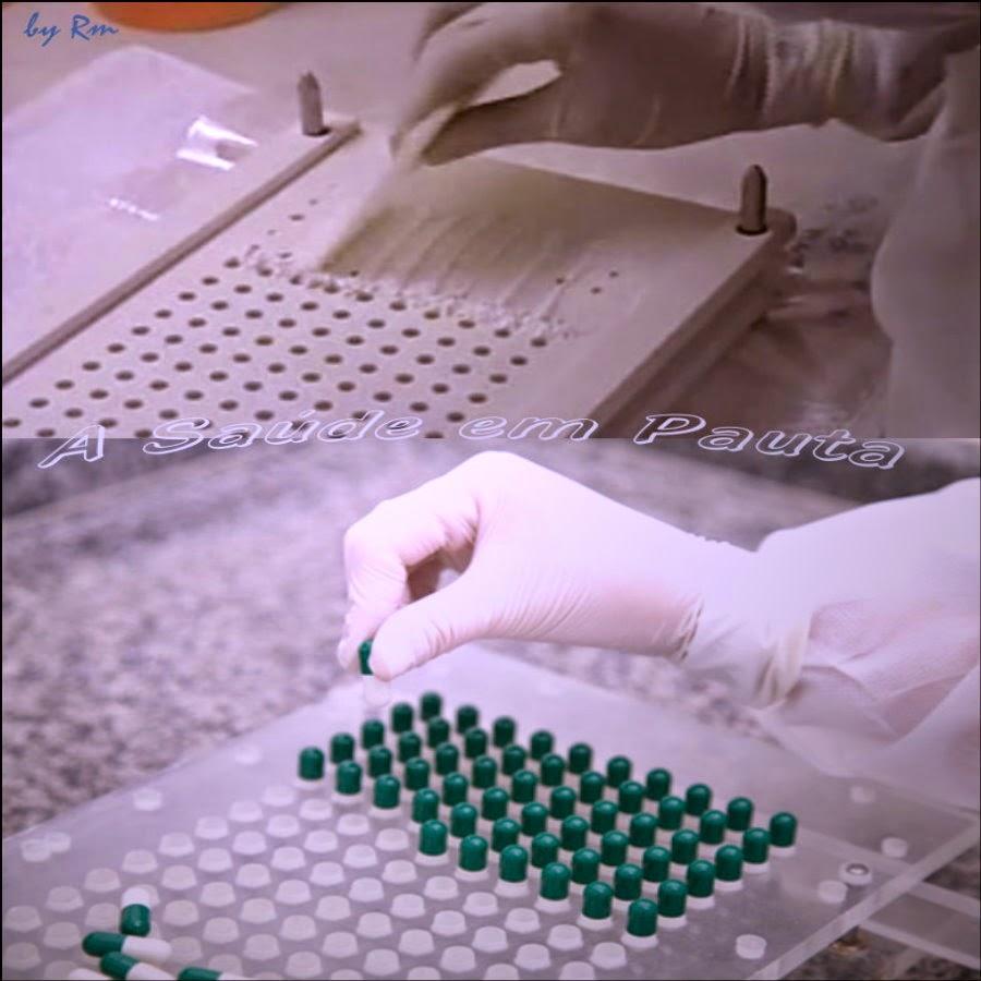 Descubra a diferença entre medicamentos manipulados e medicamentos industrializado.