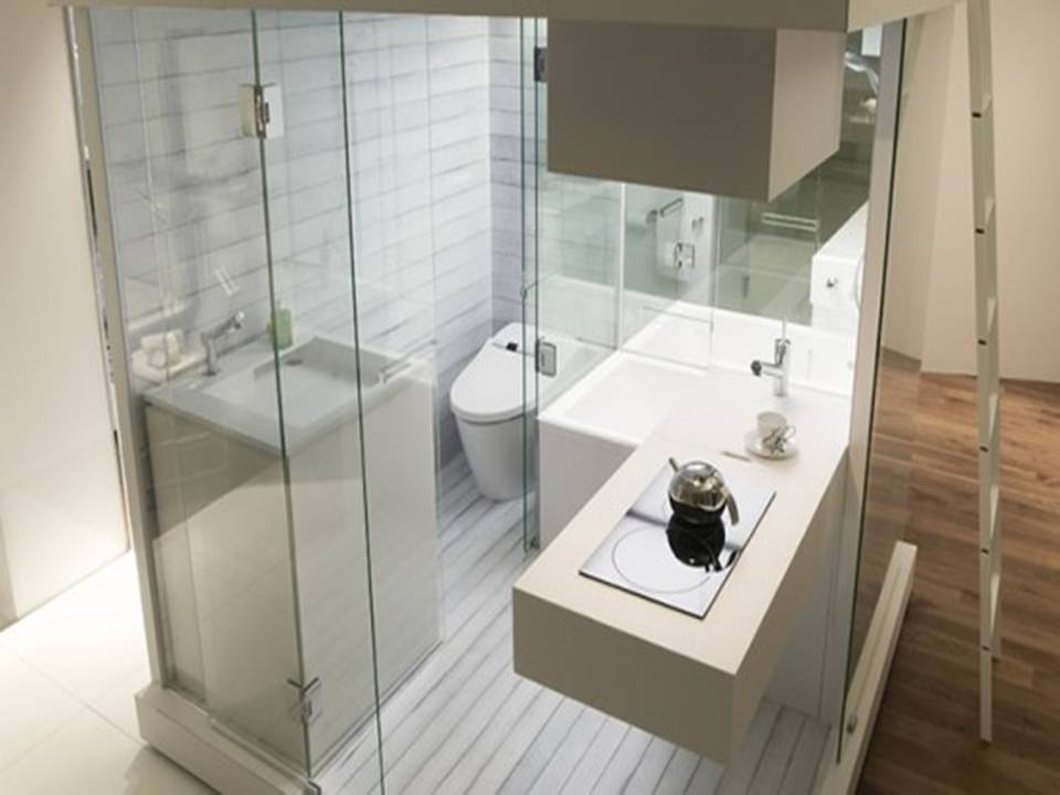 Bathroom shower panel luxury small bathroom gallery for Bathrooms for small areas