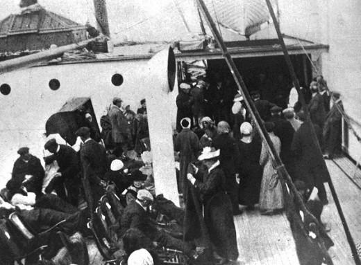 Vintage Everyday Titanic Survivors 1912