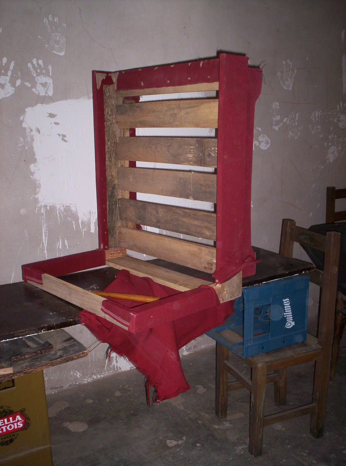 Reciclado de sillas y sillones sof camade 1plaza en for Reciclado de sillones