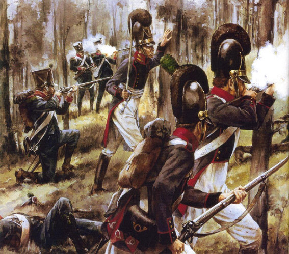 Napoleonic Battles - Даву идет на прорыв 1809