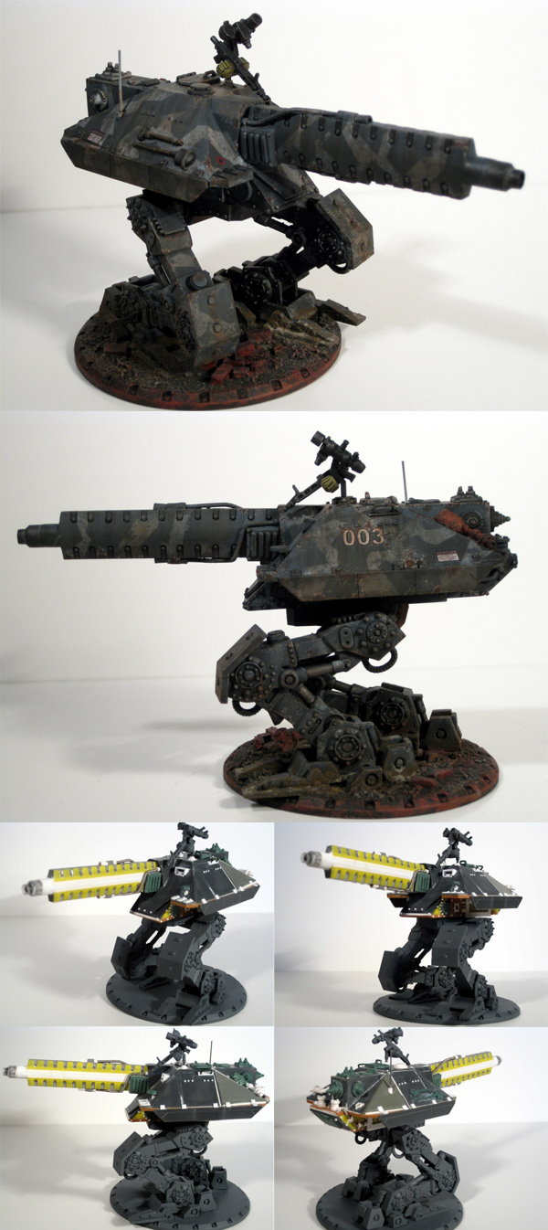Dust Tactics Walker Conversion Contes