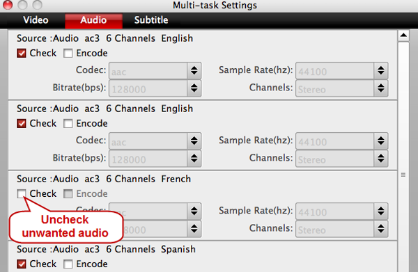 lossless mkv settings