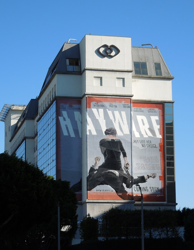 Huge haywire movie billboard