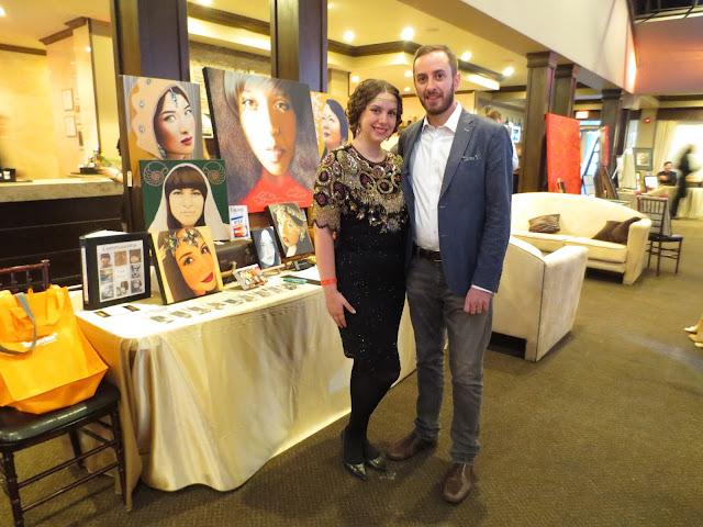 Toronto Art Award, ETA, ETA Awards, Malinda Prudhomme, Award Artist, Toronto, Art, Artist, Toronto Portrait Artist, Portrait Art, Portraiture, Beauty, La Belle Epoque, 1920s, Original Artwork. Canadian Art
