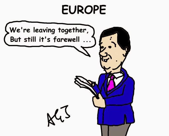 vignetta Renzi, europa
