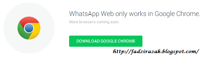 Whatsapp di Chrome