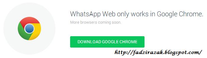 Whatsapp di Chrome