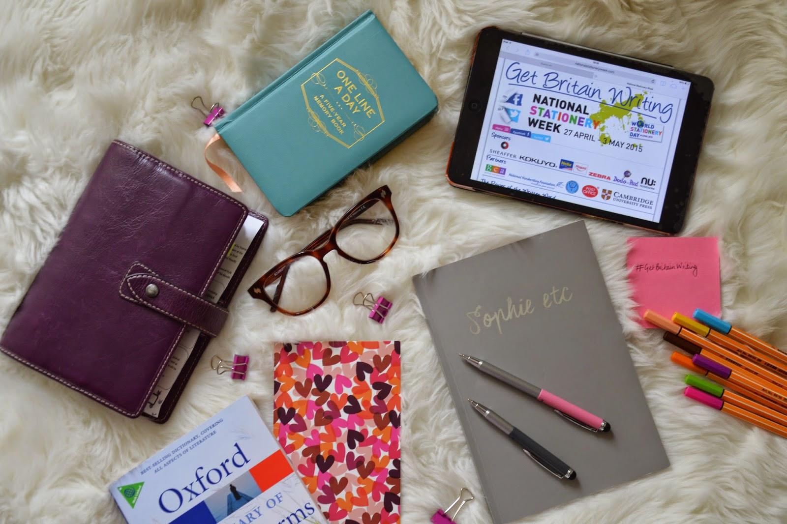 Writing, stationery, creativity