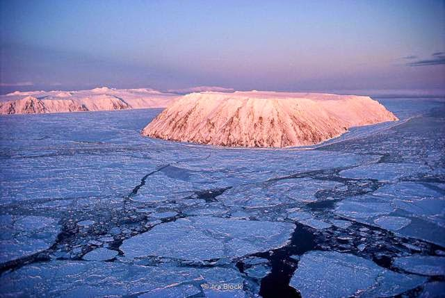 The Diomede Islands are on either side of the Russia-US border. Despite being a mere 2.4 miles apart, the Russian island is 21 hours ahead of the American island.