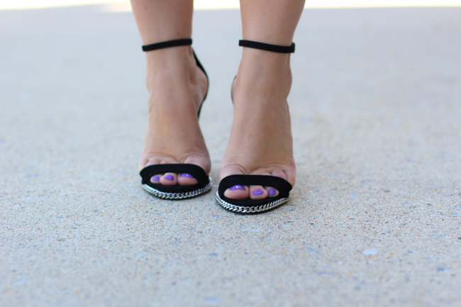 schutz black sandals