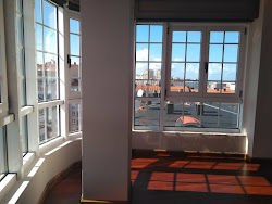 Piso de dos dormitorios en alquiler en Riazor, vistas. A Coruña