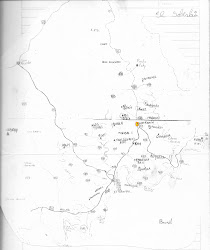 Mapa de Escuelas del Municipio de El Soberbio