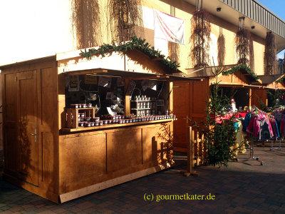 Hütte Weihnachtsmarkt Freyburg