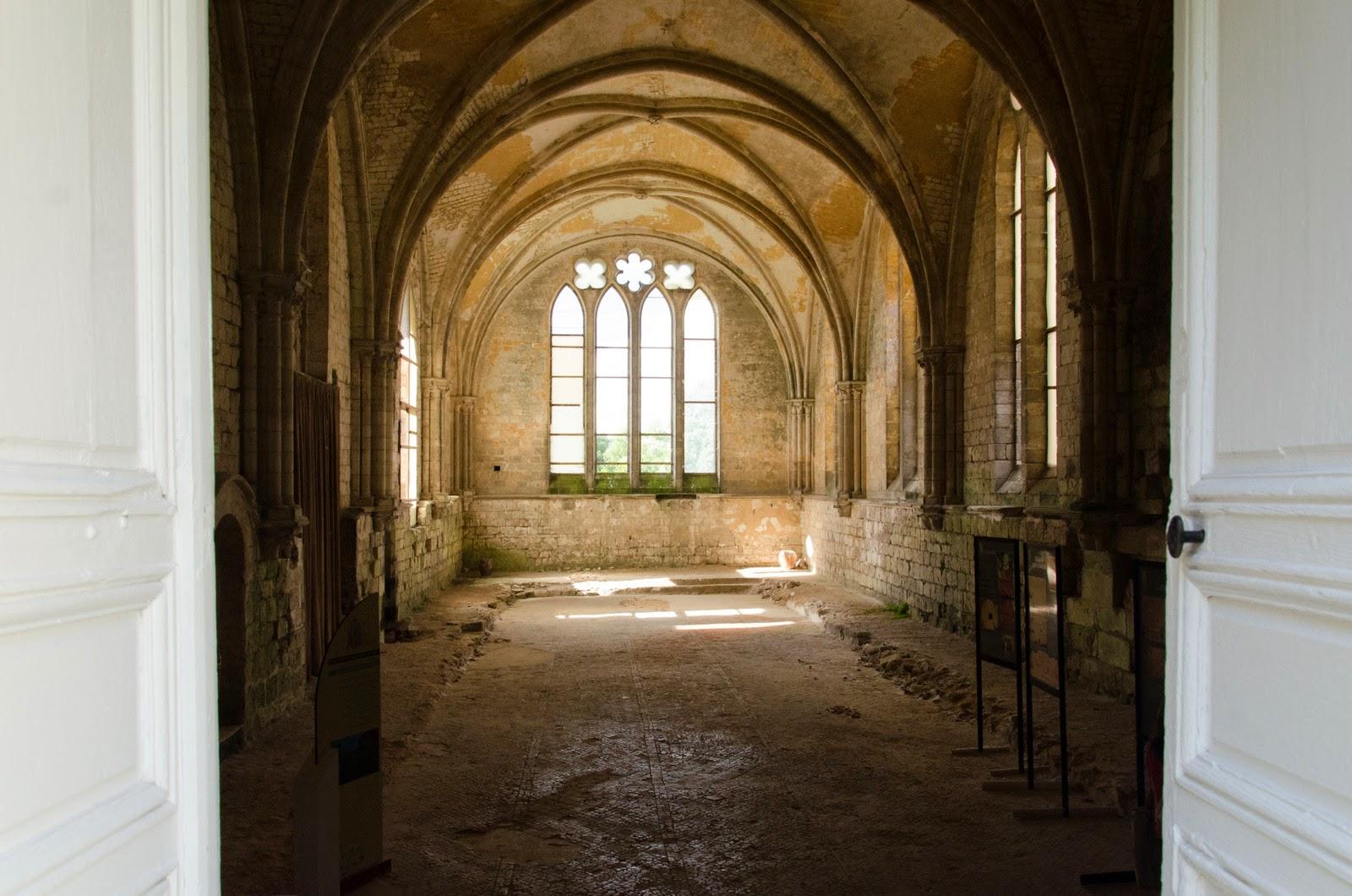 Pont de l'Arche - Abbaye de Bonport - refectoire