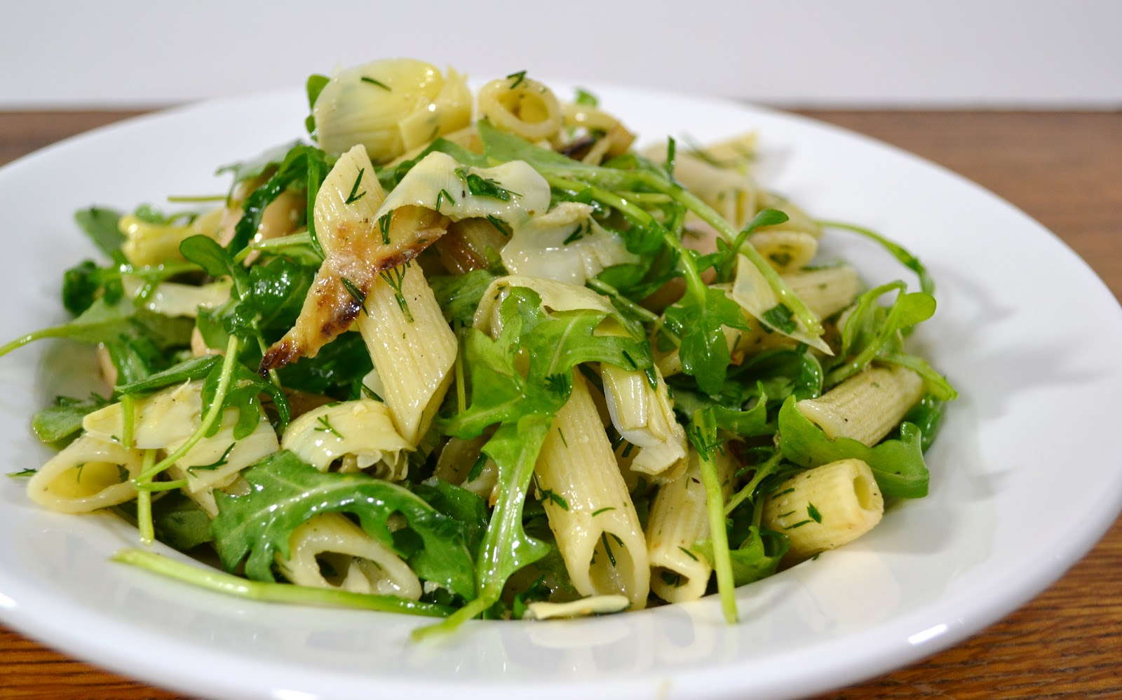 ... and kumquats: Pasta Salad with Roasted Fennel, Artichokes and Arugula