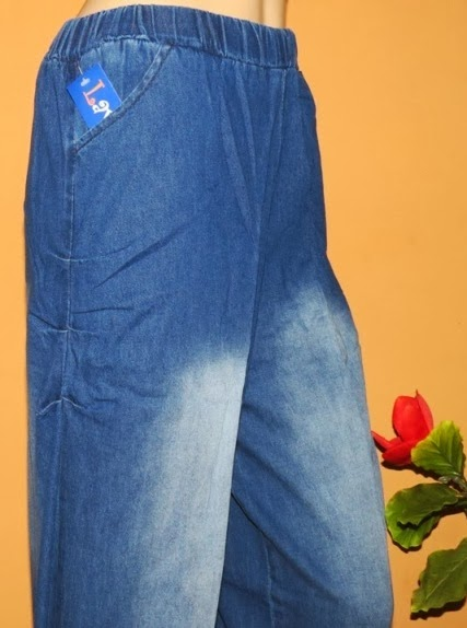Celana jeans kulot