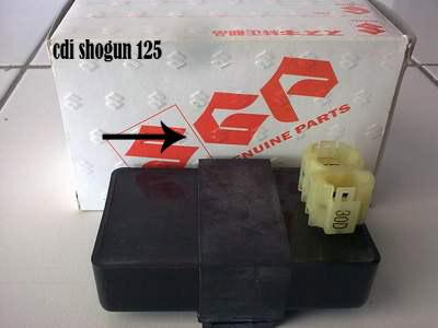 Ganti Cdi Suzuki Shogun 125 dengan Cdi Honda Mega Pro