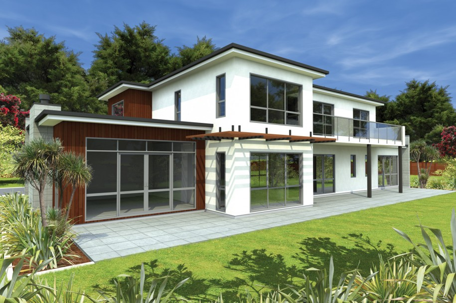 Modern bungalows exterior designs for Modern bungalow design